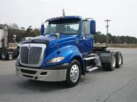 2009 I-H Prostar tandem axle day cab tractor. Mileage