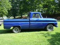 I have a 66 chevy pickup willing to trade for a small