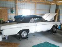 66 impala ss conv 396 4speed dual exhaust never drove