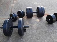 66 LBS DUMBBELL SET WEIGHT--ADJUSTABLE BARBELL SET HAND