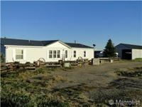 3 room 2 bath Horse home on virtually 20 acres. This