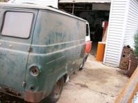 1966 Ford Econoline Panel Van (no side doors)Has total