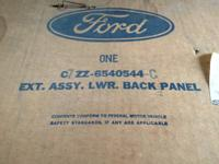 1967'-68 NOS Lower Rear Valence Panel, in original Ford