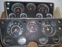 i have two complete dash clusters from 1967- 1972 chevy