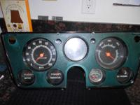 67-72 GMC CHEVY TRUCK INSTRUMENT CLUSTER GAUGE GREAT