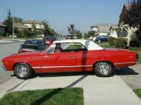 Selling a 1967 Chevy Malibu convertible. The vehicle