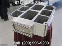 Raise your blower from the valve covers with this 4""