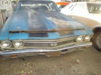 1968 Chevelle Super Sport VIN #138378##### NEEDS