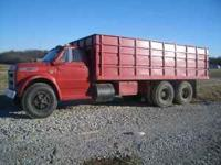 1968 chevy c60, good truck new front tires, air bags,