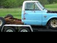 1968 chevy truck LWB. Parting out or sale whole truck.