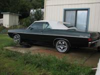 Up for sale is my 68 FORD FAIRLANE 500 CONVERTIBLE. The