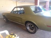 Have a 68 mustang for sale, all original, car runs