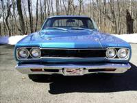 1968 ROADRUNNER HARDTOP, B5 BLUE WITH BLACK INTERIOR,