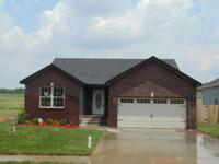 Beautiful Newly Constructed home with 3 bedrooms, 2