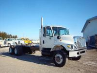 2009 I-H 7400 long wheel base tandem axles. 2 to choose