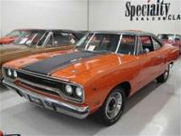 This 1970 Plymouth Roadrunner 440 Six Pack (Stock #