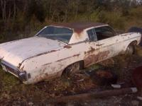69 Caprice Classic, 2 door..no motor or trans. needs