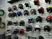 We have a large selection of Helmets in-stock. ALL