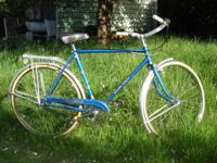 69 Raleigh Sports mens townie style bike, rebuilt
