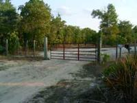 25 acres, private gate entrance, private road, 2 septic