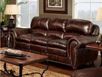 Never used brand new very elegant leather sofa still in
