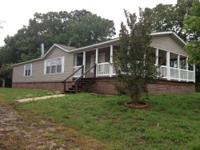 Doublewide on .89 acre tract. This home is only 5