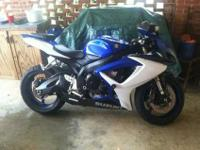 I have a seven Gsxr 600 for sale or trade. Very well