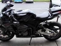 WE JUST GOT IN THIS BEAUTIFUL 2005 HONDA CBR600RR. THIS