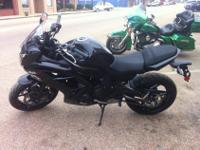 We are selling a 2012 650 Ninja. This bike is very low