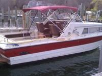 1976 26 feet cruisers inc. 5.7 mercruiser with alfa 1