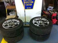 6 bolt rims and tires 245/50/ R18 call  Location: