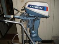Hi, I'm selling my 6 evinrude boat motor. It is in