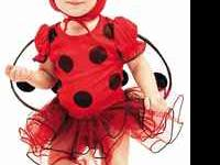 Infant-6 Months Ladybug Halloween Costume. $10.00 Comes