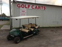 Six traveler electric golf cart for rental fee or