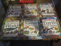 CHECK OUT & & LEARN BOOKS. A SERIES OF 6 HARDCOVER