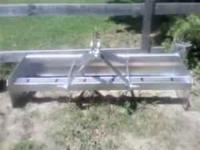 HEVY DUTY 6FT BOX BLADE FOR A TRACTOR, NEW COLD