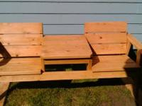 I have handbuilt by myself 6ft hemfir benches  and