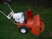 "Ariens snowblower 24"" two stage will throw 30 feet has"