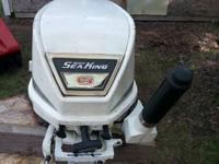 I have for sale a 6hp watercraft motor. It was simply