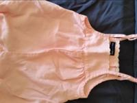 Gently used pink jumper (ralph lauren), pink shorts