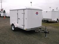 Trailer Details Door(s): Double Color: White Size: 6 X