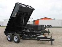 2011 Hawkline Utility Dump Trailer Features- (2)
