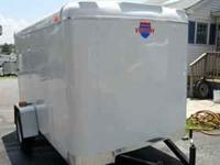 2010 Like new 6x10 enclosed trailer for sale. Includes