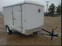 Brand name New 6x10 Enclosed Trailer On Sale Now!!!