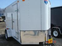 2013 Interstate cargo trailer 6x10 foot with