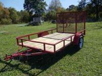 This is trailer I bought new and have used all summer