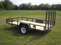 Standard Features 6x10 Tube Gate, Diamond Fenders