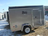 2012 6X10 ENCLOSED TRAILER, 3000# DEXTER AXLE WITH 15""