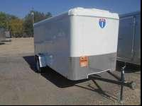 Brand New 6x12 Enclosed Trailer With Rear RampDon't