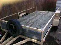 2007 Home made trailer with title - new wiring and